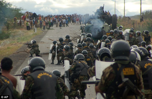 Repressão no Massacre de Baguá deixou dezenas de vítimas entre os indígenas (Foto: Associated Press)